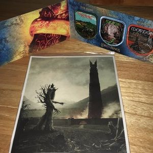 Lord of the Rings land patches + hobbit/ent art